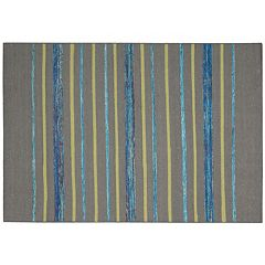 Nourison Spectrum Horizontal Stripes Rug