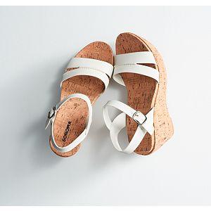 Sonoma Goods For Life® Women's Cork Wedge Sandals