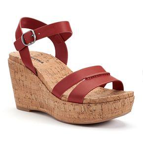 SONOMA Goods for Life? Women's Cork Wedge Sandals