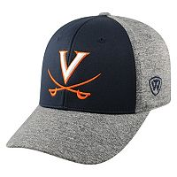 Adult Top of the World Virginia Cavaliers Pressure One-Fit Cap