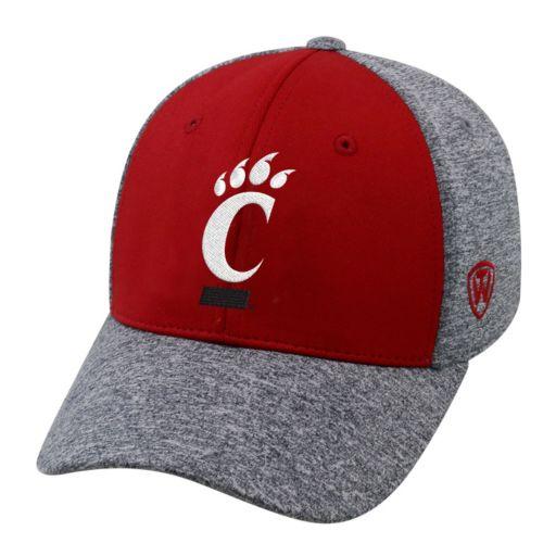 Adult Top of the World Cincinnati Bearcats Pressure One-Fit Cap