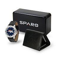Men's Sparo Denver Broncos Watch and Wallet Set