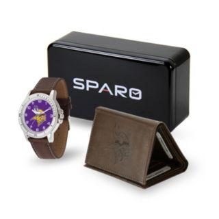 Men's Sparo Minnesota Vikings Watch and Wallet Set