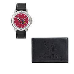 Men's Sparo Arizona Cardinals Watch and Wallet Set
