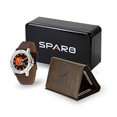 Men's Sparo Cleveland Browns Watch and Wallet Set