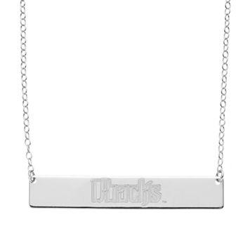 Arizona Diamondbacks Sterling Silver Bar Necklace