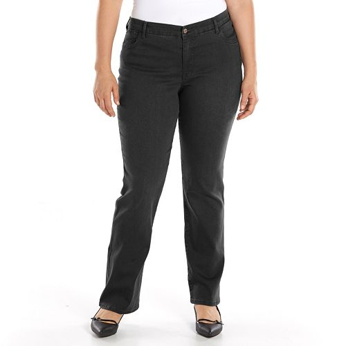 748c4c7b50e Plus Size Gloria Vanderbilt Jordyn Curvy Bootcut Jeans