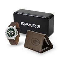 Sparo Green Bay Packers Watch and Wallet Set - Men