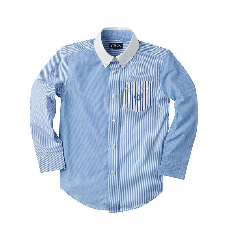 Boys 4-7 Chaps Button-Down Shirt