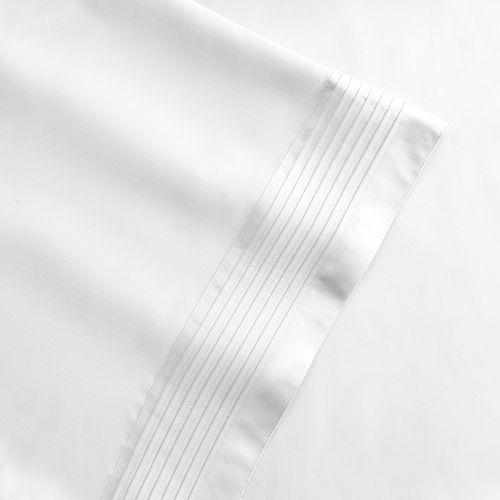 Grand Collection 1000-Thread Count Scranton Pleat Cotton Rich 6-pc. Sheet Set