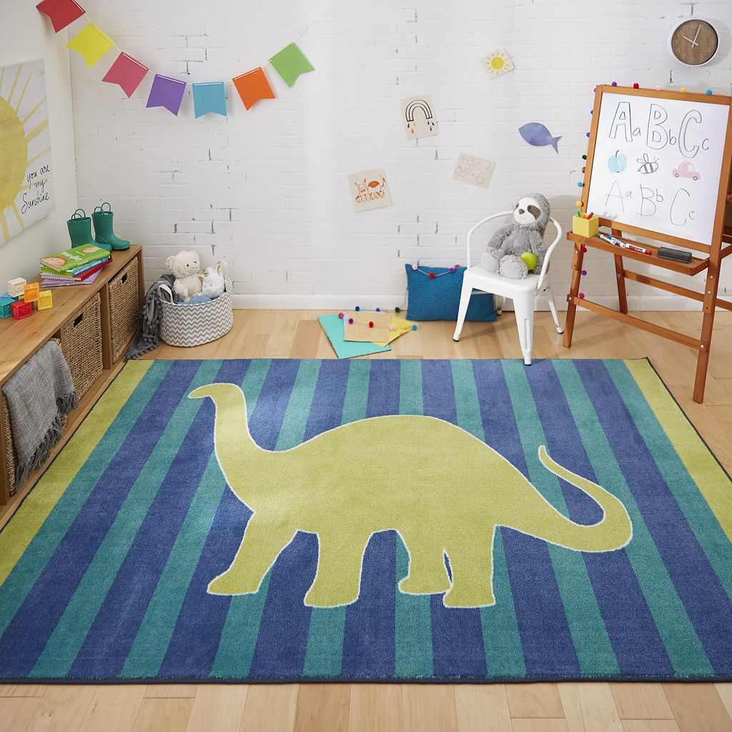 Mohawk® Home Friendly Dinosaur Rug - 5' x 8'