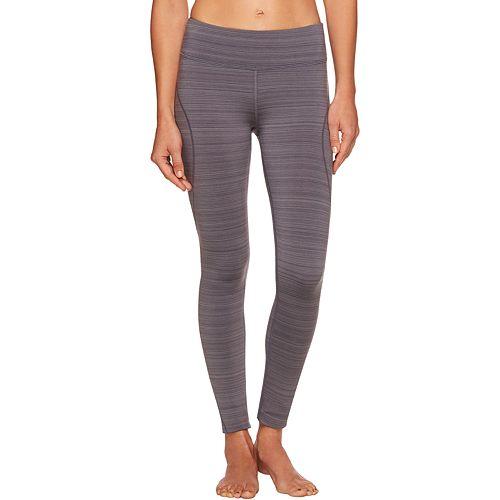 3659f494cb3e Women s Shape Active Barcode Fleece-Lined Running Leggings