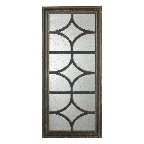 27'' Window Pane Wall Mirror