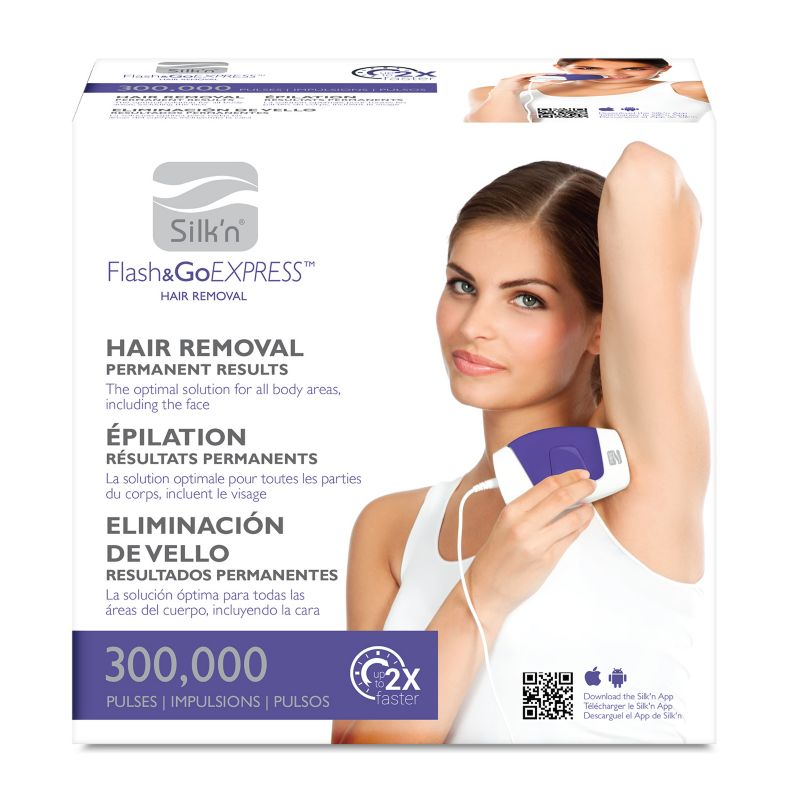 Silk'n Flash and Go Express Hair Removal Device 64739498