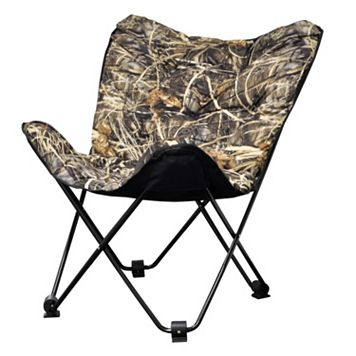 Realtree Camouflage Folding Butterfly Chair