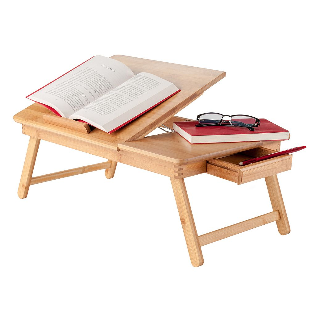 Winsome Baldwin Lap Desk with Flip Top