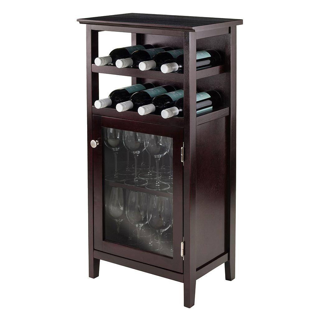Winsome Alta Wine Cabinet