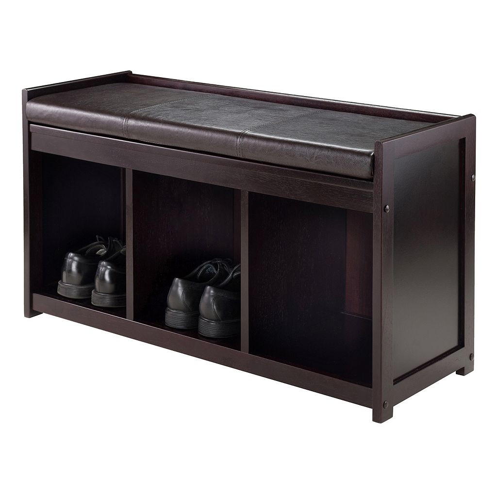 Winsome Addison 2-Piece Storage Bench Set