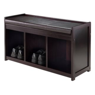 Winsome Addison 2-Piece Storage Bench Set