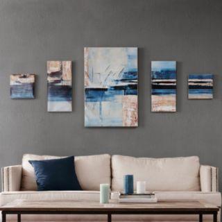 Madison Park Gel Coat Overseas Canvas Wall Art 5-pc. Set