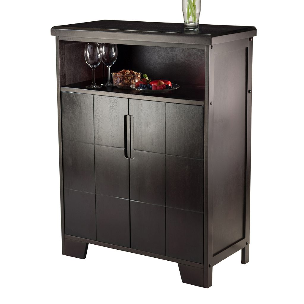 Winsome Bonnay Wine Cabinet