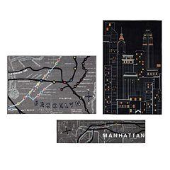 Mohawk® Home New York City 3 pc Rug Set