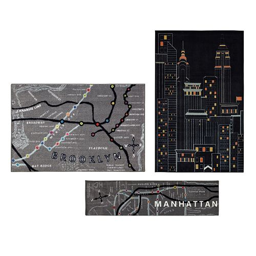 Mohawk® Home New York City 3-pc. Rug Set