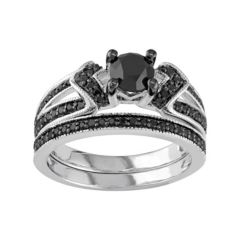 Sterling Silver Diamond Bridal Sets Rings Jewelry Kohl S