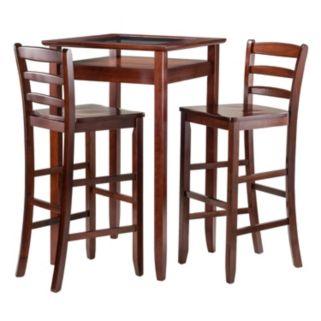 Winsome Halo 3-Piece Pub Table Set