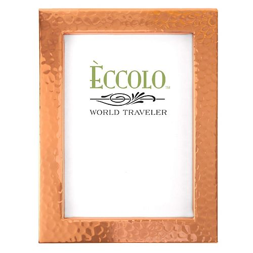 world traveler copper box hammered frame