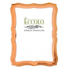 World Traveler Scalloped Copper Frame