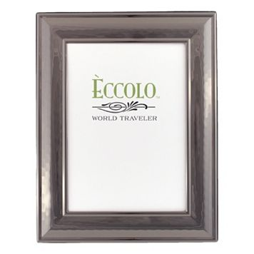 World Traveler Classic Hammered Dark Silver Frame