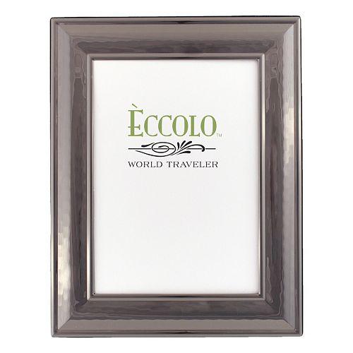 World Traveler Classic Hammered Dark Silver Frame
