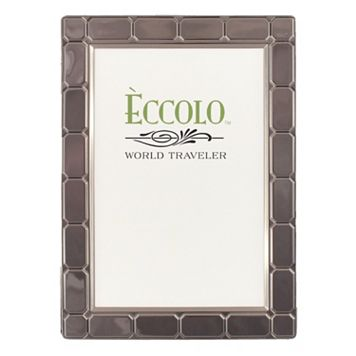 World Traveler Gatsby Dark Silver Frame