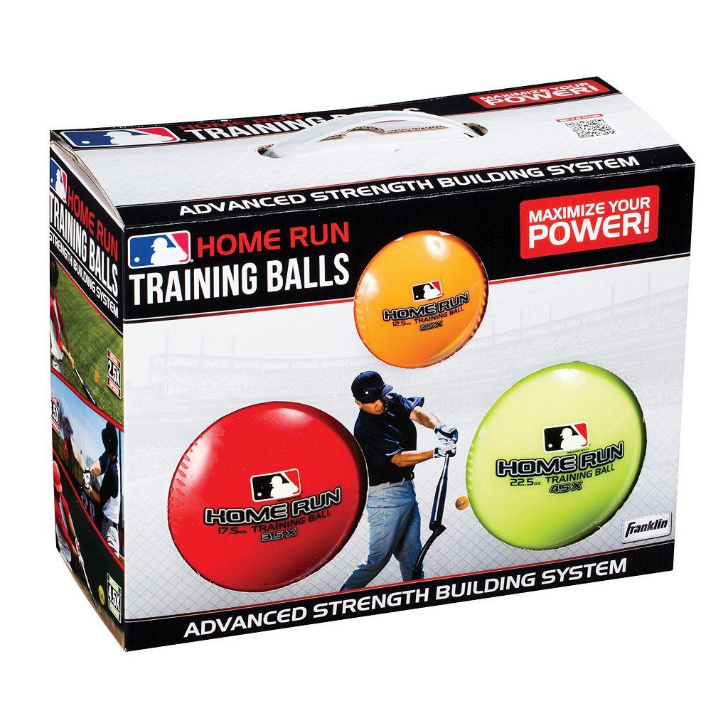 Franklin 3-pk. MLB Homerun Training Balls