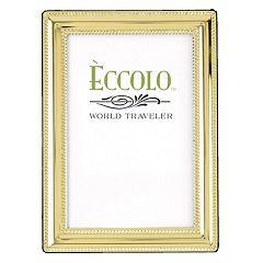 World Traveler Gold Beaded Frame