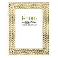 World Traveler Gold Modern Disco Frame