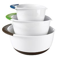OXO 3 pc Mixing Bowl Set