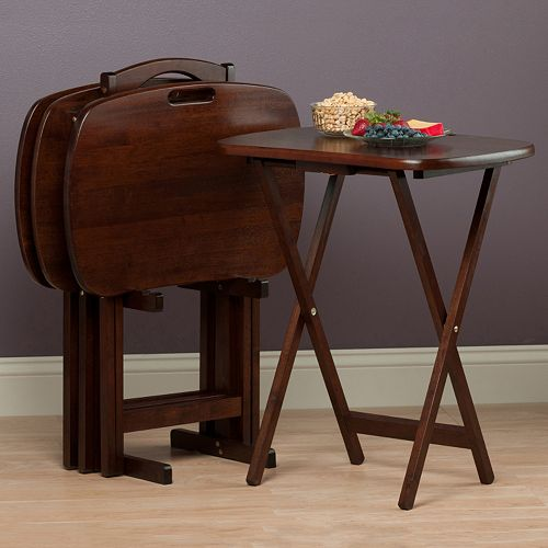 Winsome Lucca 5-Piece TV Table Set