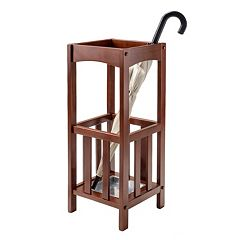 Winsome Rex Umbrella Stand with Metal Tray