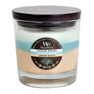 WoodWick Tri-Tone Tropical Waters 10.5-oz. Jar Candle