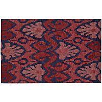 Nourison Siam Ancestral Ikat Wool Rug