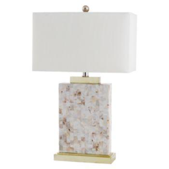 Safavieh Tory Shell Table Lamp