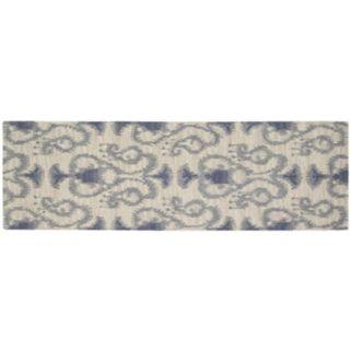 Nourison Siam Faded Ikat Wool Rug
