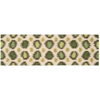 Nourison Siam Abstract Ikat Wool Rug