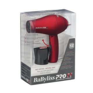 BaByliss Pro TT Tourmaline Titanium Travel Hair Dryer