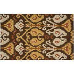 Nourison Siam Tribal Ikat Wool Rug