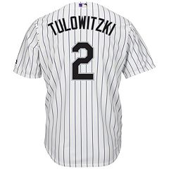 Men's Majestic Colorado Rockies Troy Tulowitzki Cool Base Replica MLB Jersey