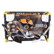 Franklin Tuukka Rask Mini Street Hockey Goal Set with Target