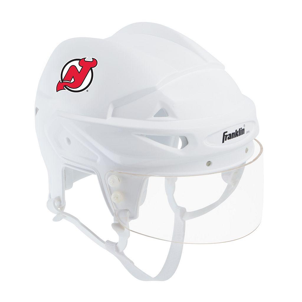 Franklin NHL Hockey New Jersey Devils Mini Player Helmet